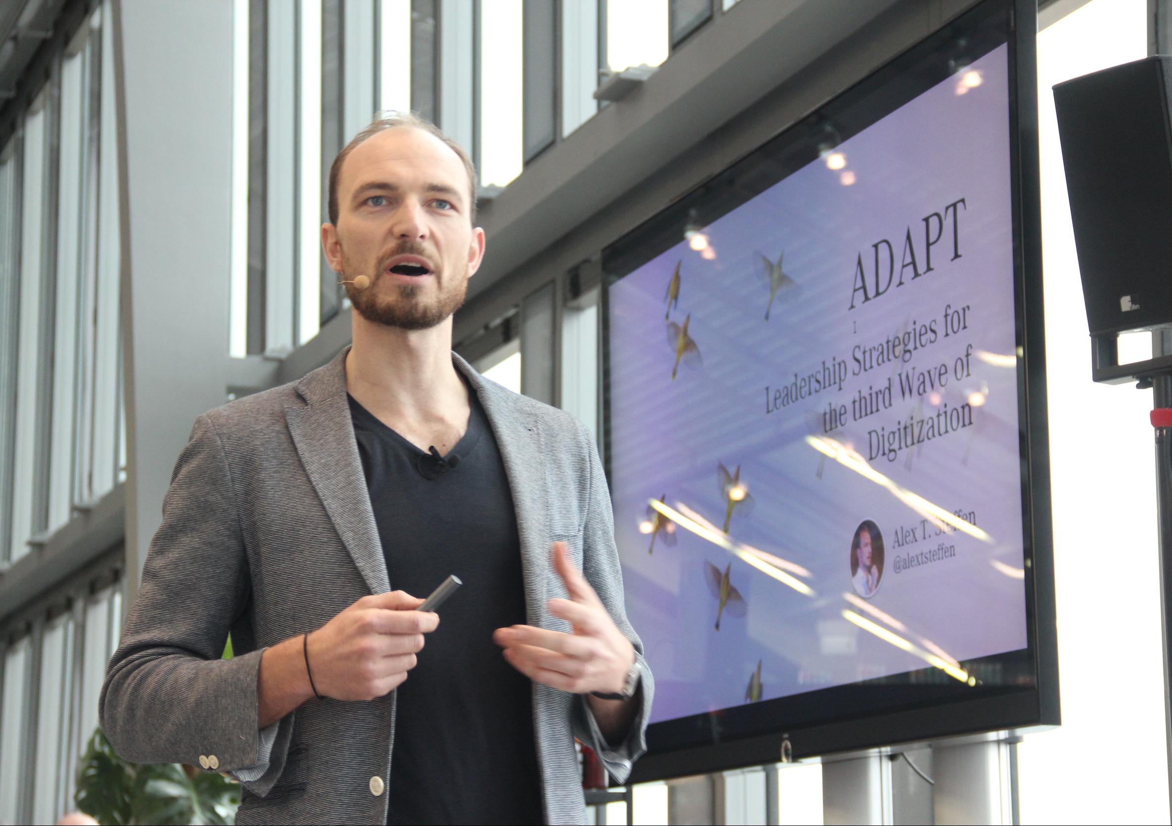 Alex T. Steffen Accenture Leadership Keynote