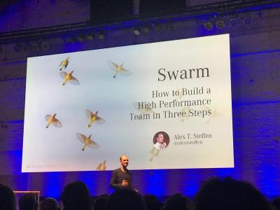 Alex Steffen Mercedes Swarm