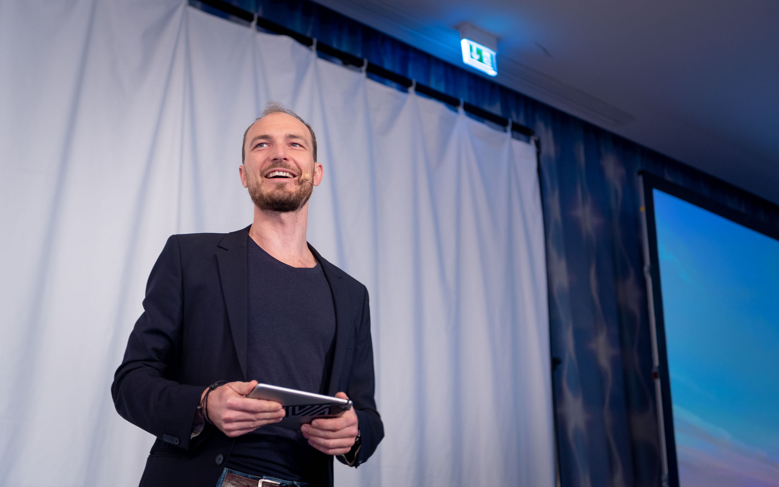Alex T. Steffen Moderation Infopark Leadership
